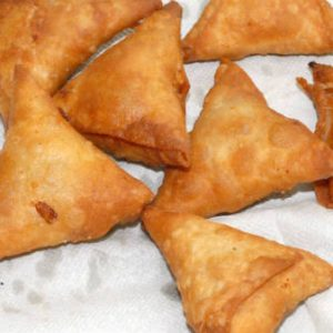 Spinach Vegetable Samosa