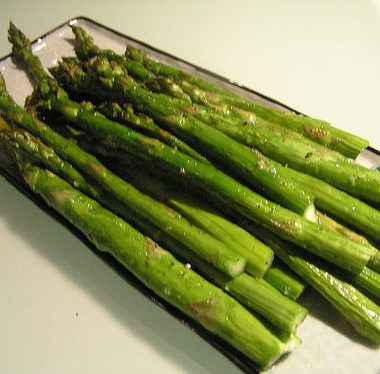 Steamed Asparagus 380x374 - Ginger Cookies