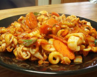 Stir fried Squid 380x300 - Mango Chicken