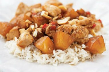 Sweet Sour Chicken 380x250 - Sweet and Sour Chicken with Tamarind