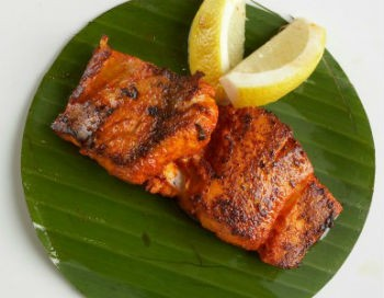 Tawa Machhi - Fish Fillets in Coconut Sauce