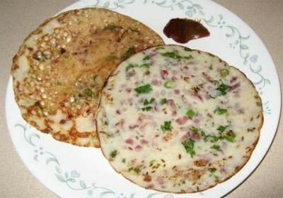 Fried Uttapam