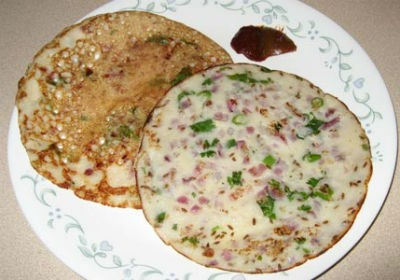 Spinach Uthappam