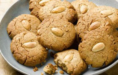 almond butter cookies 380x240 - 10 Must Have Foods to Beat the Summer Heat