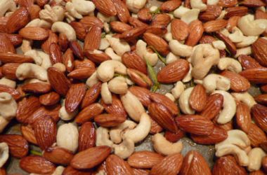 almonds cashews 380x250 - Nuts Biryani