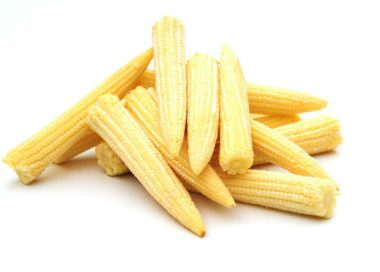 babycorn 380x272 - Baby Corn with Spinach