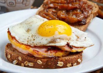bacon egg sandwich 350x250 - Bacon and Egg Sandwich