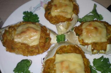 baked stuffed crabs 380x250 - Baked Stuffed Crabs