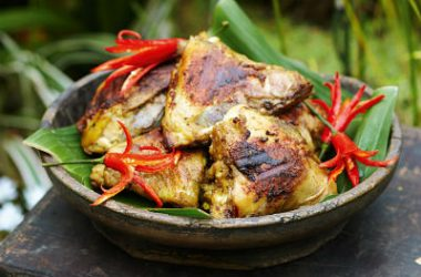 barbecued coconut chicken 380x250 - Barbecued Coconut Chicken