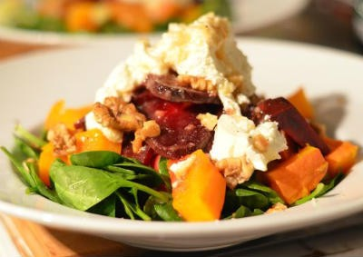 Beetroot and Pumpkin Salad