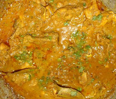 bengali chicken curry 380x327 - Murgh Kalia (Bengali Chicken Curry)