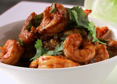 black pepper prawns 380x273 - Mysore Mutton Curry