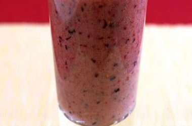 blackberry raspberry smoothie 380x250 - Blackberry and Raspberry Smoothie
