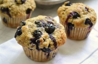 blueberry muffins 380x250 - Blueberry Muffins