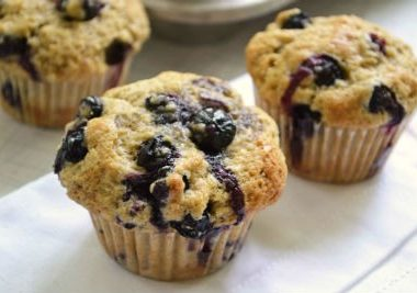 blueberry muffins 380x267 - Sweet Rice with mango