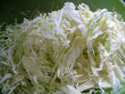 cabbage grated - Cabbage Carrot Poriyal