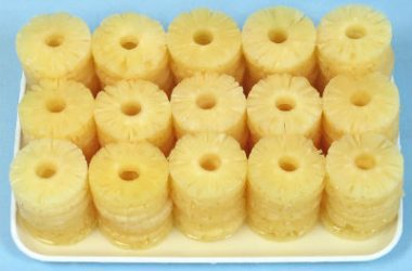 canned pineapple slices 380x250 - Pineapple Rava Pongal