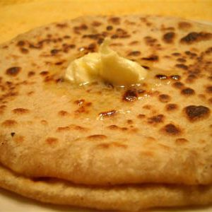 Carrot Potato Paratha