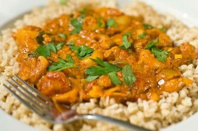 Cashew Nut Curry (Kaju Curry)