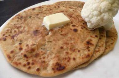 cauliflower paratha 380x250 - Cauliflower Paratha