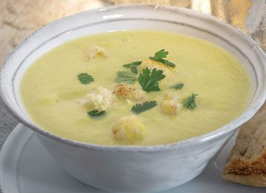 cauliflower soup 380x276 - Cucumber Soup