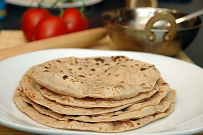 Sweet Corn Stuffed Chapati