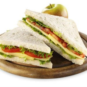 Green and Red Sandwich