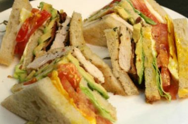 chicken club sandwich 380x250 - Chicken Club Sandwich