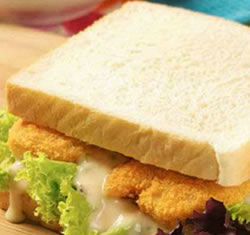 Chicken Nuggets Sandwich