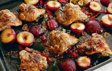 chicken plums 380x240 - Chicken with Plums