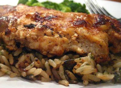 Chicken and Rajma Rice