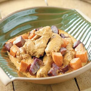 Chicken and Sweet Potato Coconut Curry