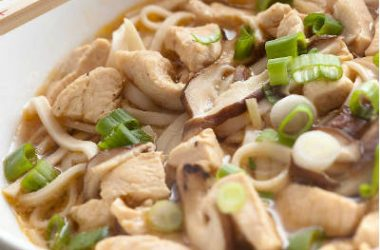 chicken udon soup 380x250 - Chicken Udon Soup
