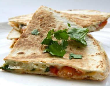 chicken vegetable quesadillas 380x298 - Polynesian Sour