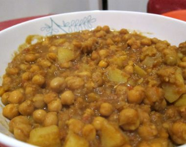chickpeas with potatoes 380x300 - Chickpeas with Mushrooms
