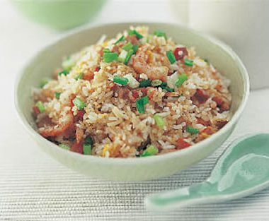 chinese fried rice 380x313 - Barbecued Coconut Chicken