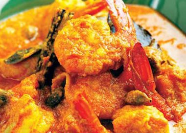 chingri malai prawns 380x272 - Chicken Cafreal