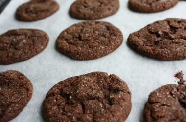 chocolate ginger cookies 380x250 - Chocolate Ginger Cookies