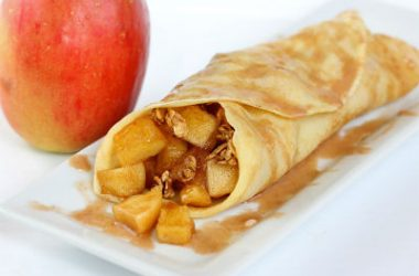 cinnamon apple crepe 380x250 - Cinnamon Apple Crepes