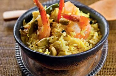 coconut shrimp biriyani 380x250 - Coconut Shrimp Biryani