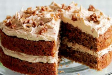 coffee walnut cake 380x254 - Clover Club