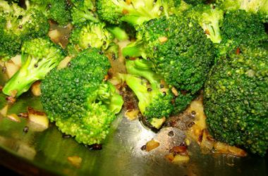 cooked broccoli 380x250 - South Indian style Broccoli