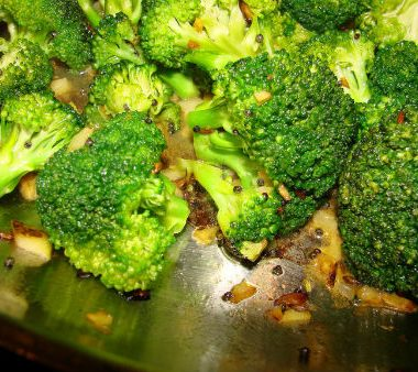 cooked broccoli 380x338 - Turkish Lentil Salad