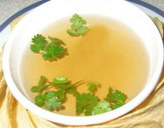 coriander lemon soup - Coriander Lemon Soup