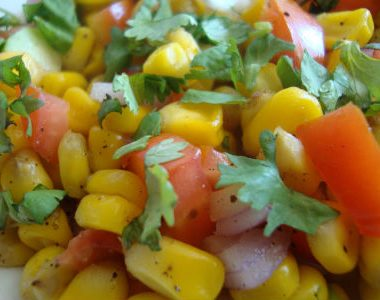corn chaat 380x300 - Spicy Lemongrass Prawns