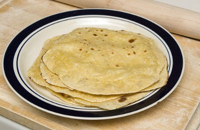 Sweet Corn Chapati