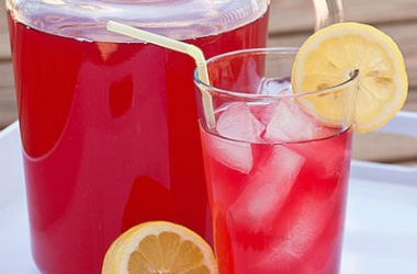 cranberry lemonade 380x250 - Cranberry Lemonade