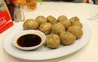 Crispy Fried Fish Balls