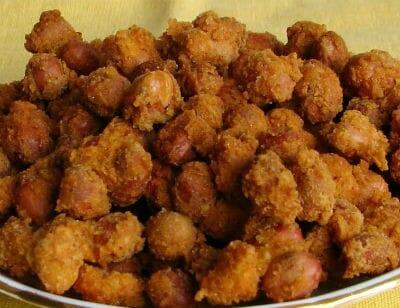 Crispy Fried Peanuts