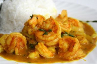 curried shrimp 380x250 - Curried Shrimp